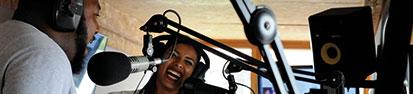 Reprezent Radio on air duo © Maxim Northover small