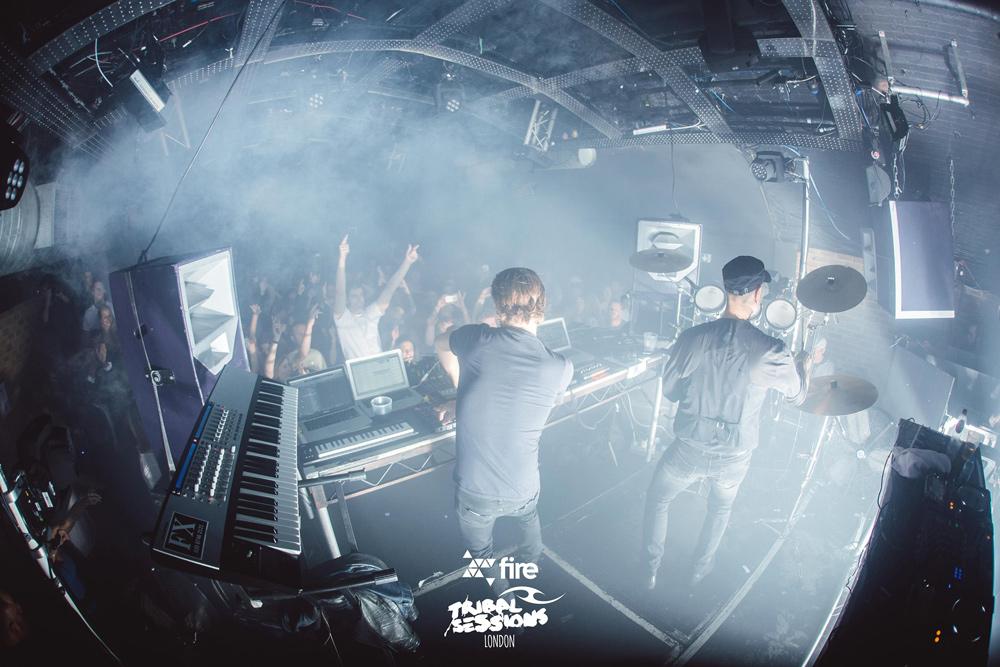 Fire DJs in the club