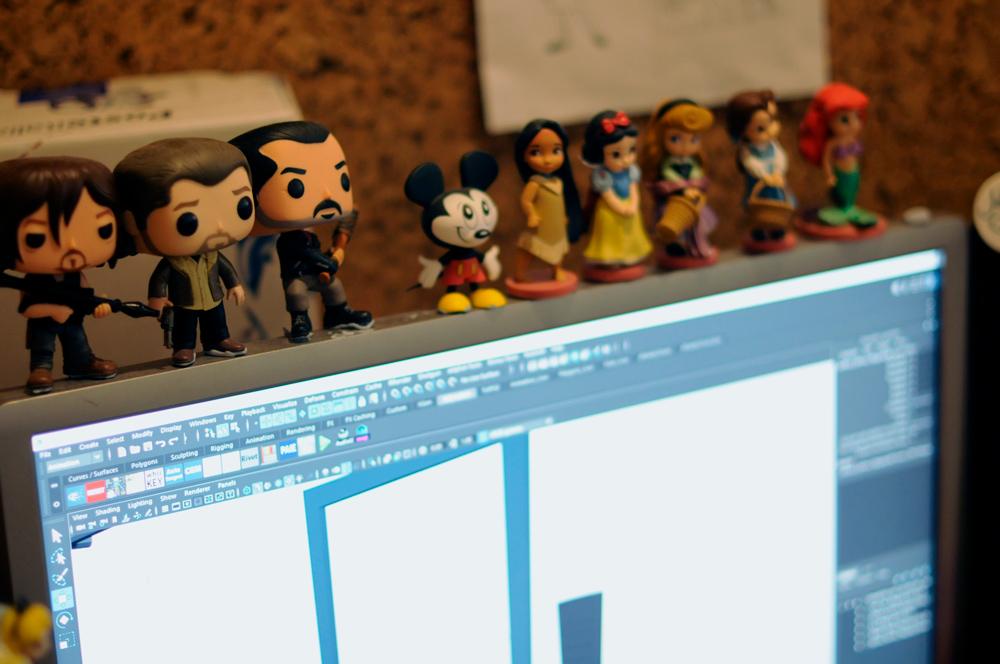 Desktop toys at Jellyfish