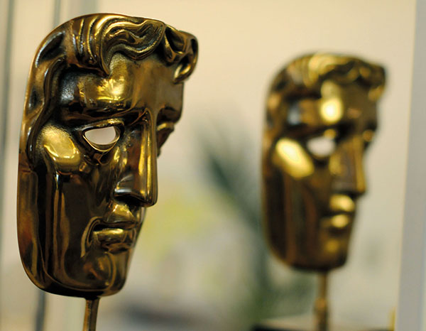 Image of two Baftas at UsTwo