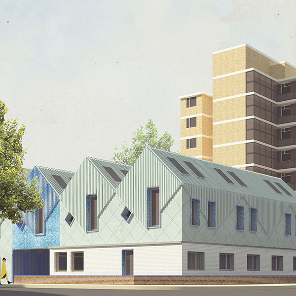 Emerging designs of Waterloo Works, subject to planning approval © alma-nac (www.alma-nac.com)